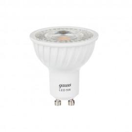 Лампа светодиодная Gauss MR16 GU10 5W 4100K