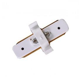 Коннектор 180 градусов для трекового светильника белый
