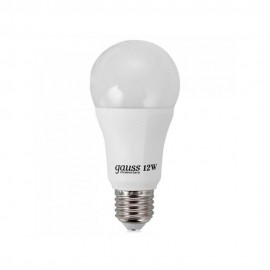Лампа светодиодная Gauss A60 12W E27 2700K