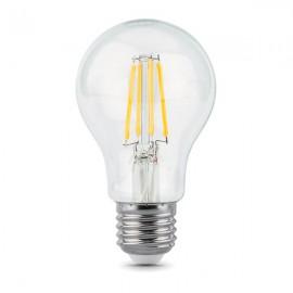 Лампа светодиодная Gauss Filament A60 E27 10W 2700К