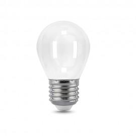 Лампа светодиодная Gauss Filament OPAL G45 E27 5W 2700К