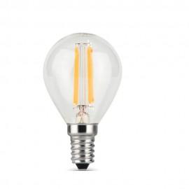 Лампа светодиодная Gauss Black FIL G45 E14 9W 4100K