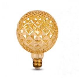 Лампа светодиодная Gauss Filament G120 Сarat E27 4W Golden 2400K