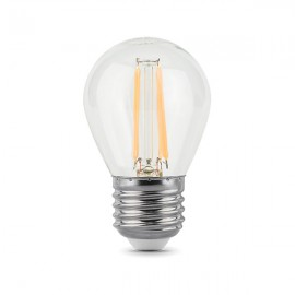 Лампа светодиодная Gauss Filament Globe E27 5W 2700K