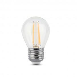 Лампа светодиодная Gauss LED FIL G45 E27 9W 2700K