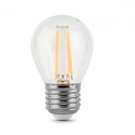 Лампа светодиодная Gauss Filament Globe E27 5W 4100K