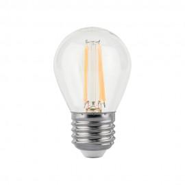Лампа светодиодная Gauss Black FIL G45 E27 9W 4100K