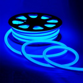 Led неон 220V 120SMD/м 10W IP68 синий