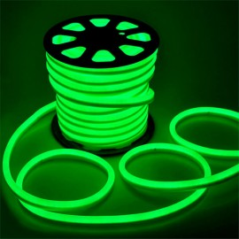 Led неон 12V 120SMD/м 10W IP68 зеленый