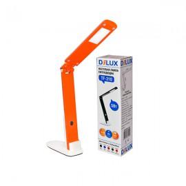 Настольная светодиодная лампа Delux TF-310 5 Вт бело-оранжевая