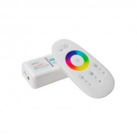 RGB Контроллер 18А Радио - (белый сенсорный пульт) 8 кнопок