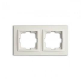 Рамка 2-ая Mono Electric DESPINA белая 102-19-161