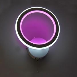 Настенный светильник светодиодный Комо 30W белый с подсветкой Powerlight