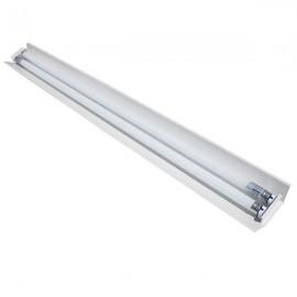Светильник Трассовый Стекло премиум под светодиодную лампу Т8 2*1200мм