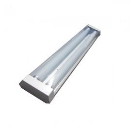 Светильник Трассовый Стекло премиум под светодиодную лампу Т8 2*600мм