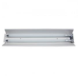 Светильник Трассовый открытый под светодиодную лампу Т8 2*1200мм СПВ-02