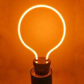 Лампа светодиодная Е27 220V FILAMENT 2200K 4W дуга Powerlight
