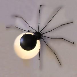 Настенный светильник G9 Паук черный Powerlight