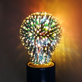 Лампа светодиодная Е27 3D A60 Звезда Powerlight