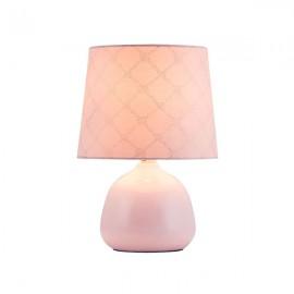 Настольная лампа Ellie Е14 1х40W розовая Rabalux 4384