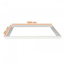 Накладное крепление для светодиодных панелей 1200х300