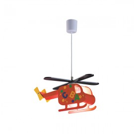 Люстра детская 40W IP20 E27 HELICOPTER Rabalux