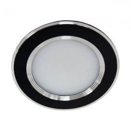 Светильник светодиодный AL527 5W круг черный 400Lm 4000K 95*28mm Feron