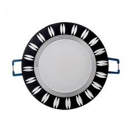 Светильник светодиодный AL779 5W круг черний 400Lm 4000K 93*28mm Feron