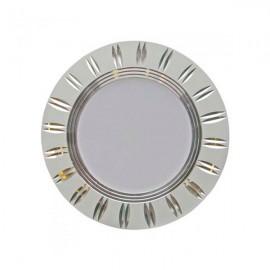 Светильник светодиодный AL779 5W круг серебро 400Lm 4000K 93*28mm Feron