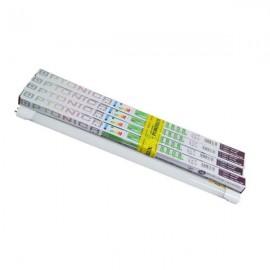 Комплект LED ламп Т8 G13 4штх9Вт 600мм холодный цвет