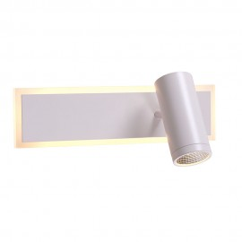 Настенный светильник LED POWERLUX 11W+5W 3000K white
