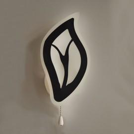 Настенный светильник светодиодный Комо 15W чорный Powerlight