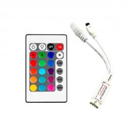 RGB Контроллер mini 6А - И.К. 24 кнопки