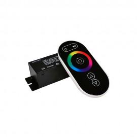RGB Контроллер 18А Радио - (черный сенсорный пульт) 8 кнопок