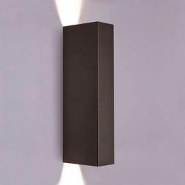 Настенный светильник 35W IP20 GU10x2 MALMO black Novodvorski