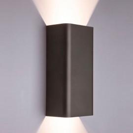 Настенный светильник 35W IP20 GU10x2 BERGEN Novodvorski черный