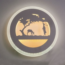 Настенный светильник светодиодный Лаго 18W 4500K белый Powerlight