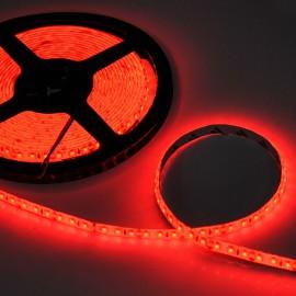 Светодиодная лента 12V 3528 120led/m 9,6W IP65 красная TM POWERLUX