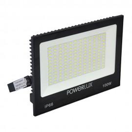 Прожектор светодиодный POWERLUX  09964 BK 100W  6500K IP66
