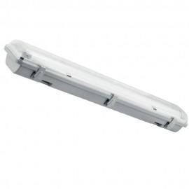 Герметичный светильник PWL T8 под светодиодную лампу IP65 2*1200мм
