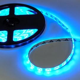 Светодиодная лента 12V 3528 60led/m 4,8W IP20 синяя TM POWERLUX