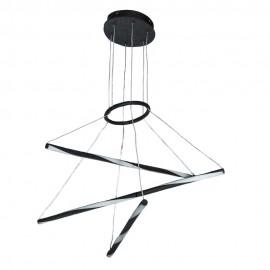 Люстра подвес LED POWERLUX ART-Spiral  21Вт 3000К BK