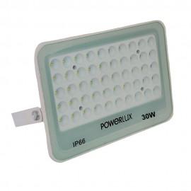 Прожектор светодиодный POWERLUX 23625 WH 30W  6500K IP66