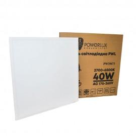 Панель светодиодная PWL 40W 2700-6500K IP20
