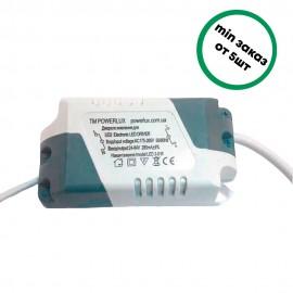 LED драйвер 3-9W POWERLUX
