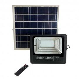 Прожектор  LED на солнечной панели 100W POWERLUX с пультом