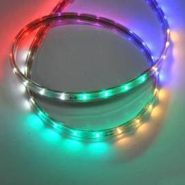 Светодиодная лента 220V 3528 48led/m 6W IP65 RGB TM POWERLUX