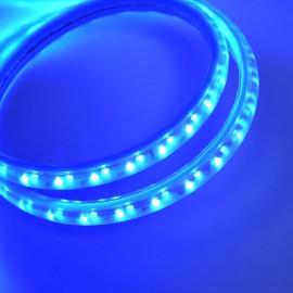 Светодиодная лента 220V 3528 120led/m 12W IP65 синяя TM POWERLUX