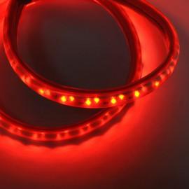 Светодиодная лента 220V 3528 120led/m 12W IP65 красная TM POWERLUX