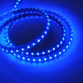 Светодиодная лента 220V 3528 120led/m 5W IP65 синяя TM POWERLUX